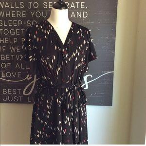 Torrid Faux-Wrap Dress